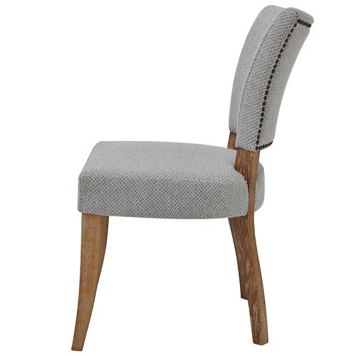 Austin Fabric Dining Chair, Cardiff Gray