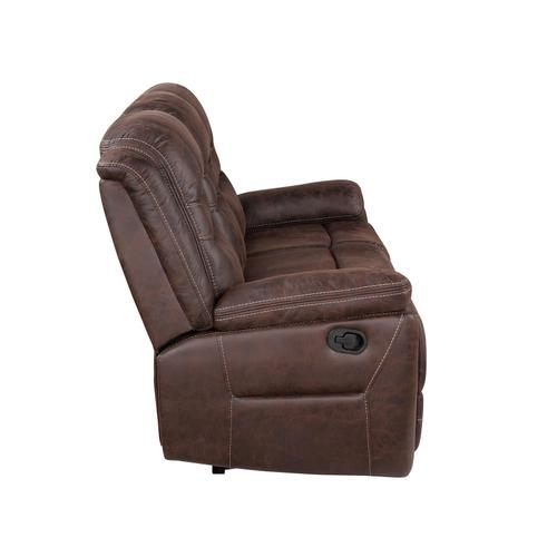 Stetson Manual Reclining Sofa w/Dropdown Table