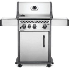 Rogue XT 425 SIB with Infrared Side Burner , Stainless Steel , Propane