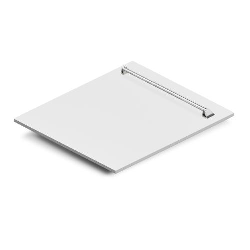 "Zline Kitchen and Bath - ZLINE 24"" Dishwasher Panel with Traditional Handle [Color: Black Matte]"
