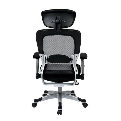 Professional Light Air Grid Back Chair With Headrest