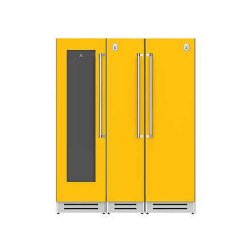 "Hestan - 66"" Wine Cellar (L), Column Freezer and Refrigerator ® Ensemble Refrigeration Suite - Sol"