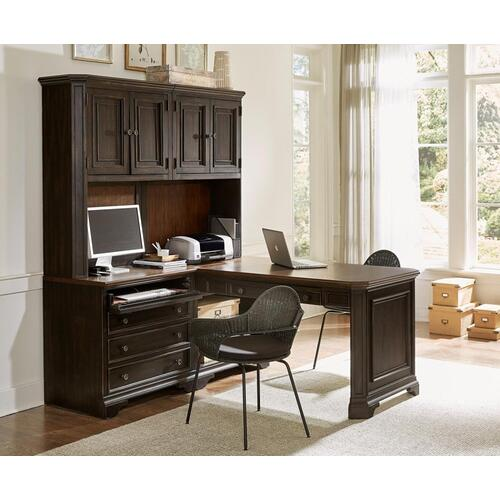 Open Base for Peninsula Desk