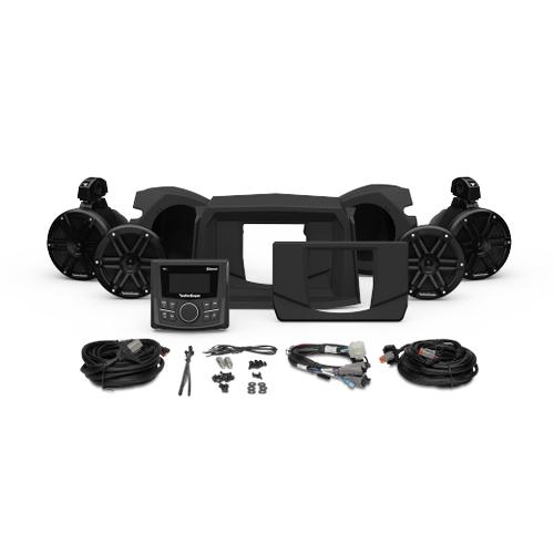 Rockford Fosgate - PMX-1, Front & Rear Speaker Kit for Select Polaris® RZR® Models (Gen-3)
