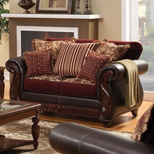 Furniture of America - Franklin Love Seat