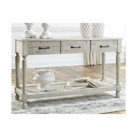 Shawnalore Sofa Table Whitewash