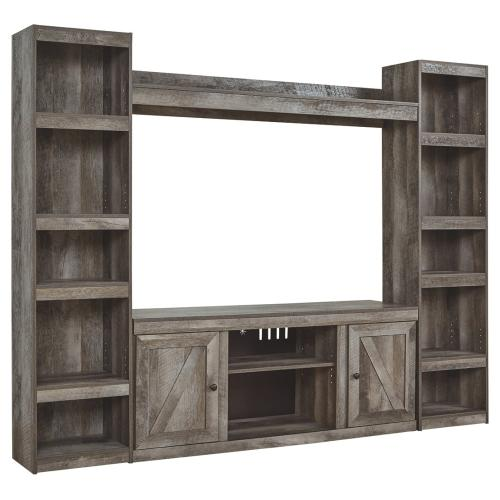 Wynnlow 4-piece Entertainment Center