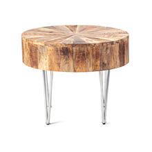 Tacoma Small Wood Accent Table