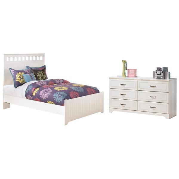 See Details - Full Panel Bed With Dresser
