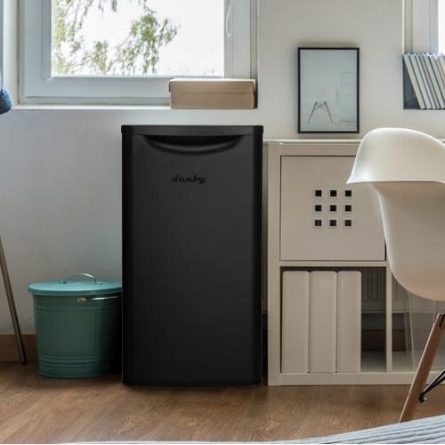 Danby - Danby 3.3 cu. ft. Contemporary Classic Compact Refrigerator