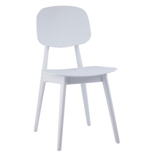Tov Furniture - Tao White Chair (Set of 2)