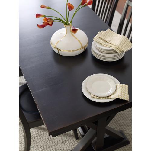 Trestle Table - Peppercorn