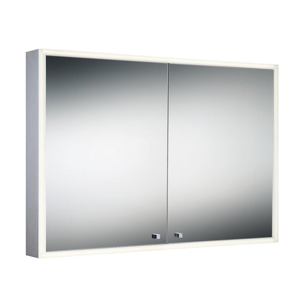 See Details - DOUBLE DOOR EDGE-LIT CABINET - Mirror