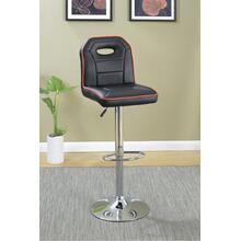 Ivan Bar Stool, Black