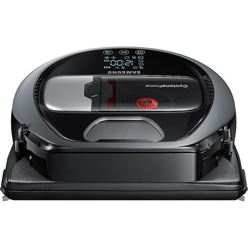 Samsung - POWERbot™ Smart Robot Vacuum with Visionary Mapping™ in Neutral Grey