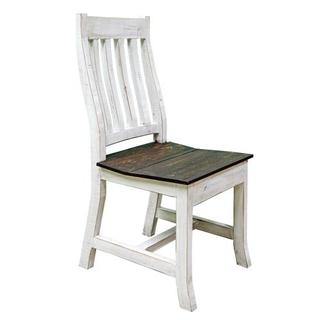 See Details - Weathered Whtie Romeo Chair