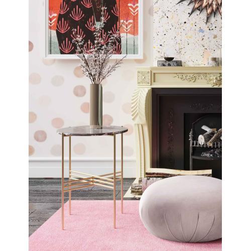 Tov Furniture - Cress Black Marble Side Table