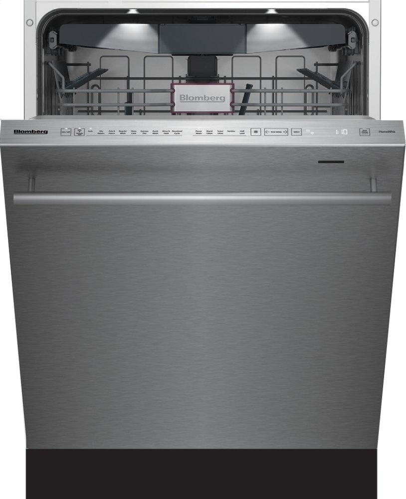 Blomberg AppliancesTall Tub Dishwasher 8 Cycles Top Control 3rd Rack Stainless 45dba