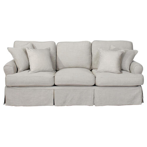 Sunset Trading - Horizon Slipcovered Sofa - Color 220591