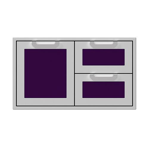 """Hestan - 36"""" Hestan Outdoor Combo Door/Drawer - AGSDR Series - Lush"""