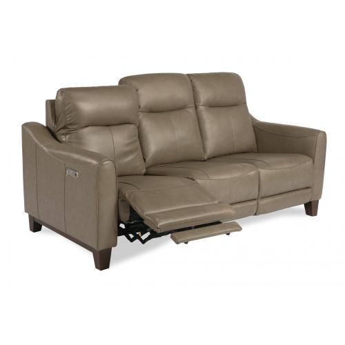 Product Image - Forte Power Reclining Sofa with Power Headrests