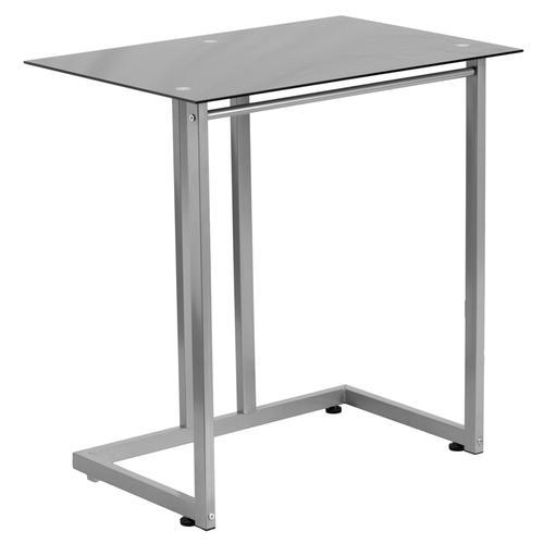 Flash Furniture - Black Tempered Glass Computer Desk