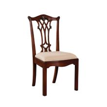 See Details - CONNECTICUT REGENCY MAHOGANY SIDE CHAIR