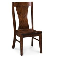 View Product - Joseph Side Chair, Wood Seat