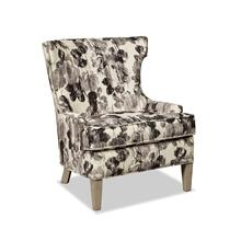 Wing Chair with Pewter Nailhead Trim