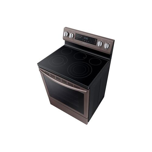 5.9 cu. ft. Freestanding Electric Range with True Convection in Tuscan Stainless Steel