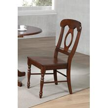 DLU-ADW-C50-CT-2  Napoleon Dining Chair  Chestnut  Set of 2