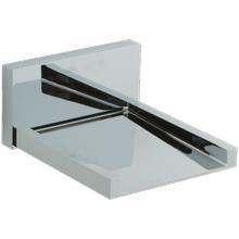 Quarto Wall Mount Open Waterfall Alternative Tub Filler Chrome