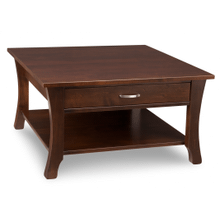 Yorkshire Coffee Table with Shelf and 1 Drawer