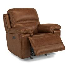 See Details - Fenwick Power Gliding Recliner with Power Headrest - 204-72 Leather Vinyl