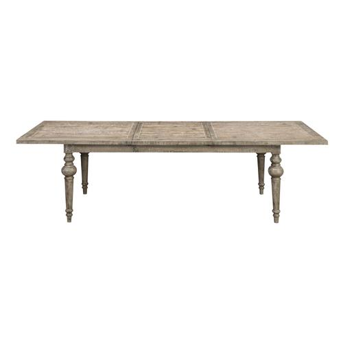 Interlude Butterfly Leaf Dining Table, Sandstone Buff D560-10-05-k
