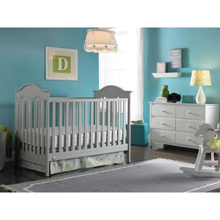 Fisher-Price Charlotte Crib, Misty Grey