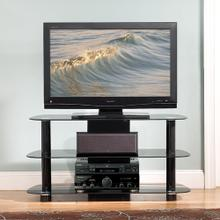 PVS4215HG High Gloss Black A/V System for most Flat Panel TVs up to 46 inches from Bell'O International Corp.