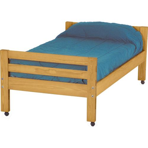 Caster Bed, Double, extra-long