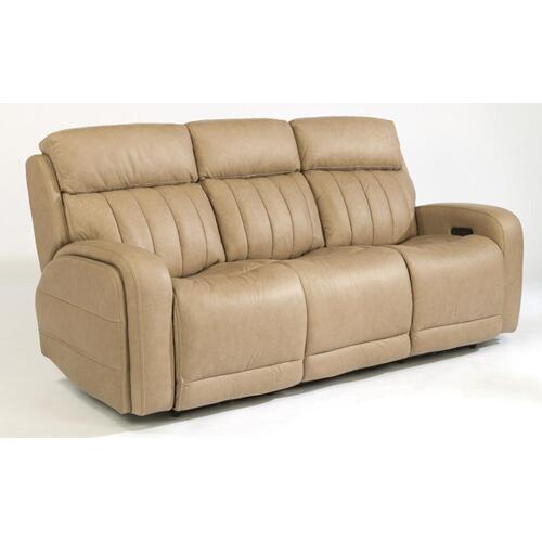 Danvers Leather Power Reclining Sofa with Power Headrests