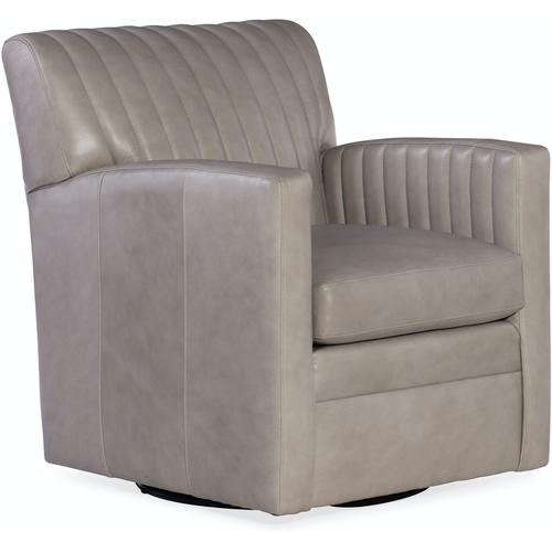 Bradington Young Barnabus Swivel Chair 8-Way Hand Tie 406-25SW