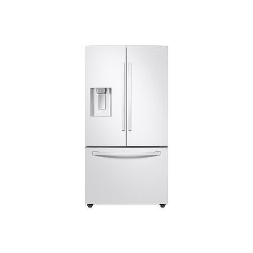 28 cu. ft. 3-Door French Door, Full Depth Refrigerator with CoolSelect Pantry™ in White