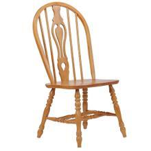 See Details - Keyhole Dining Chair - Light Oak (Set of 2)