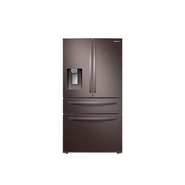 28 cu. ft. 4-Door French Door Refrigerator with FlexZone™ Drawer in Tuscan Stainless Steel