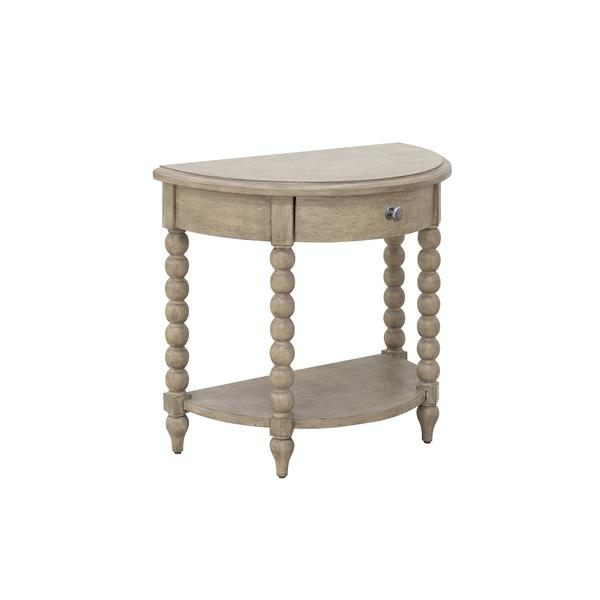 Nashville Demilune Night Table