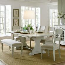 View Product - 6 Piece Trestle Table Set