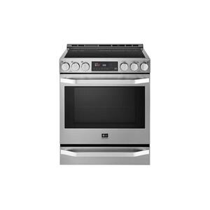 LG STUDIO 6.3 cu. ft. Induction Slide-in Range with ProBake Convection® and EasyClean® Product Image