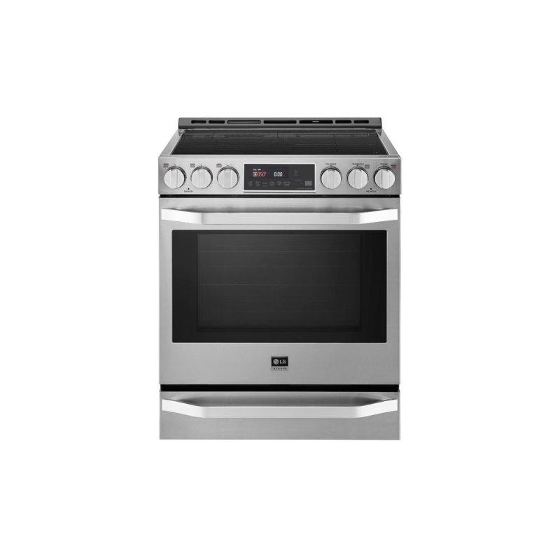 LG STUDIO 6.3 cu. ft. Induction Slide-in Range with ProBake Convection(R) and EasyClean(R)
