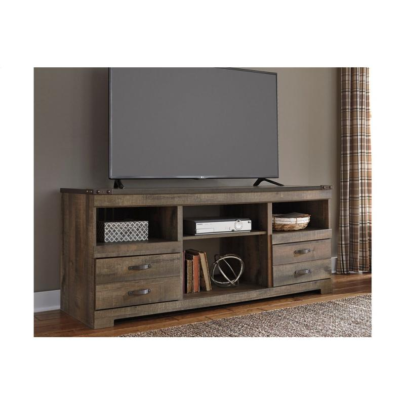 View Product - Trinell Brown Large TV Stand