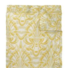 Axelle Duvet Cover & Shams, GOLD, STAND
