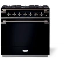 "View Product - Aga ELISE 36"" Dual Fuel, Gloss Black"